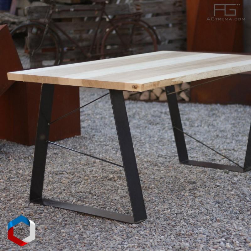 table live edge aveo bois massif