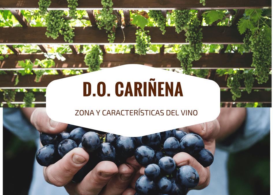 DENOMINACION DE ORIGEN CARIÑENA, ZONA Y CARACTERISTICAS DEL VINO