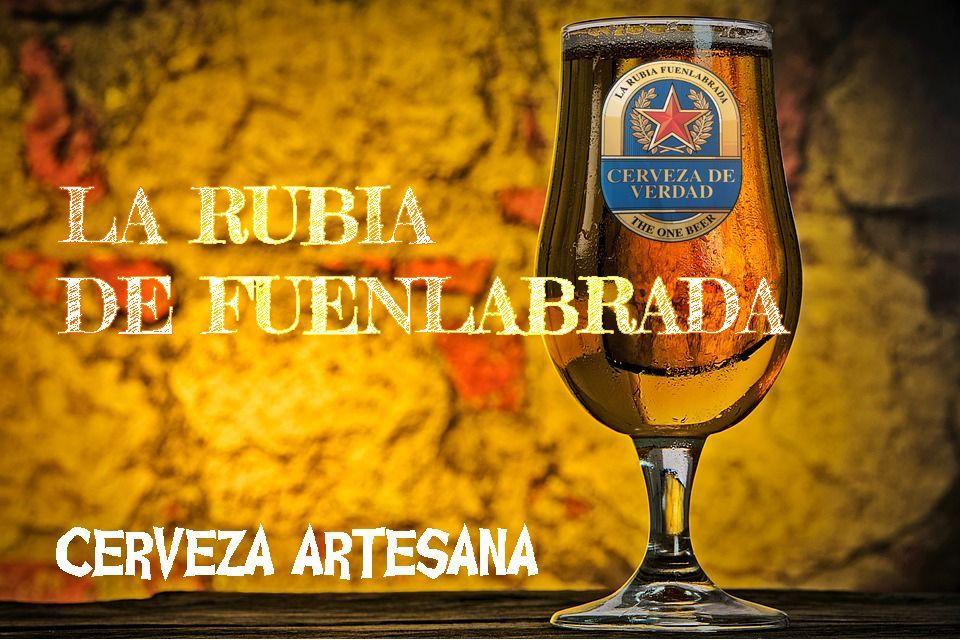 La Rubia de Fuenlabrada cerveza artesana de verdad