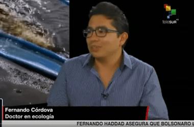 Cruce de Palabras: Conversamos con Fernando Córdova