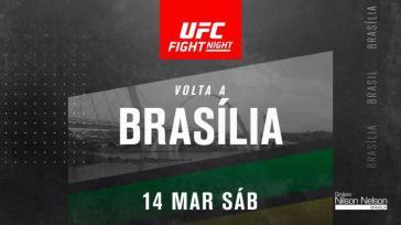 Brasília recebe UFC em março
