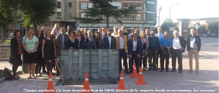 Burgos acoge la Asamblea final del proyecto SmartWater4Europe