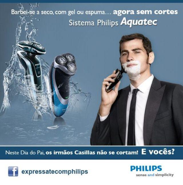 philips homem man passatempo máquina de barbear