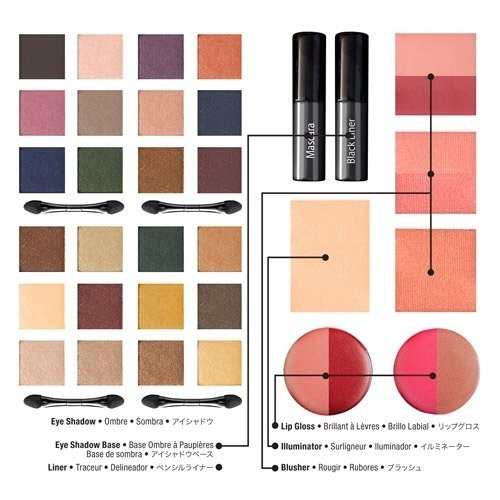 dark shadows merchandising tim burton filme maquilhagem paleta nyx