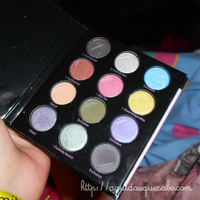 too faced maquilhagem makeup beleza paleta palete liquif-eye shadow collection eyeliner swatch review sephora