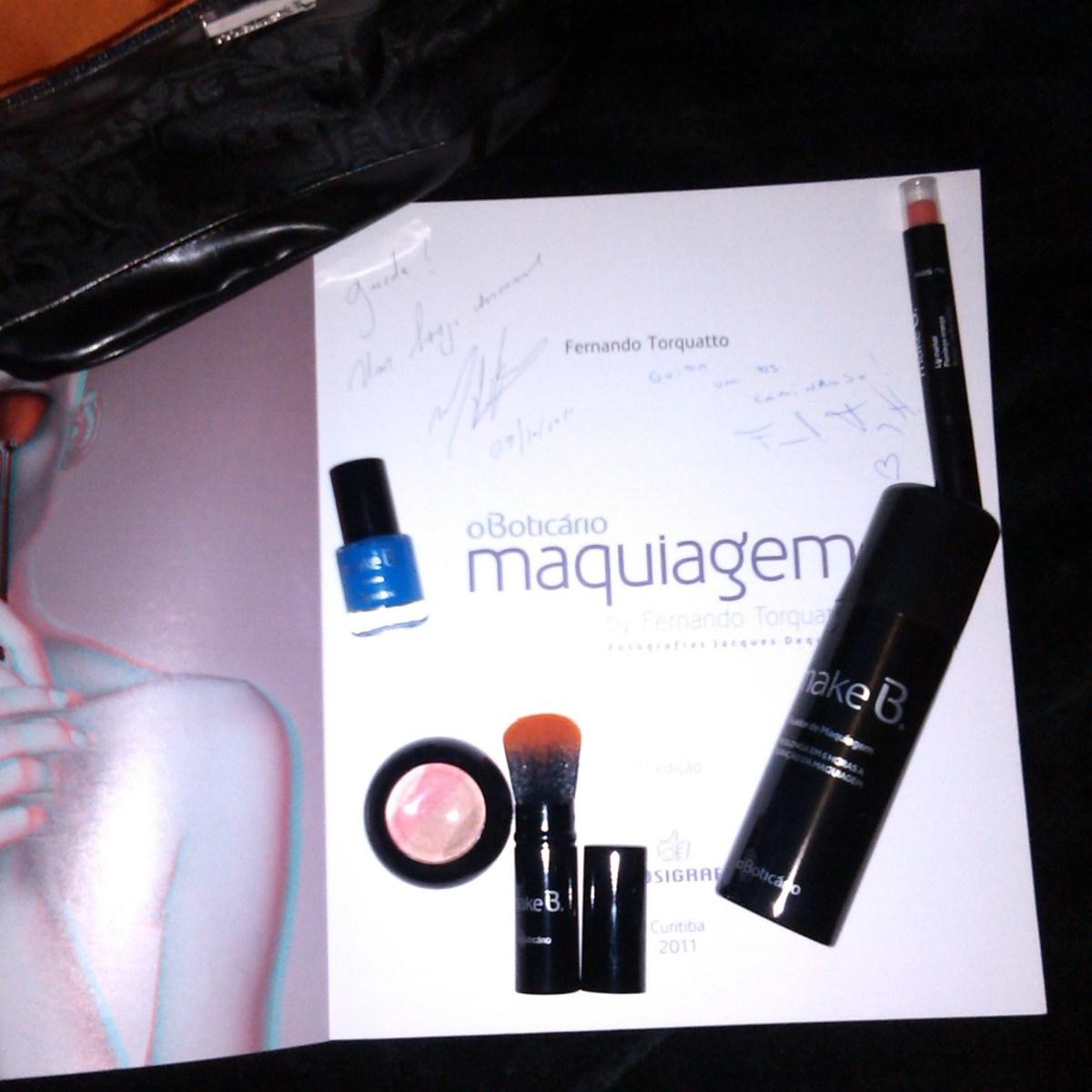 maquiagem maquilhagem makeup make b boticário miami sunset fernando torquatto globo resenha review swatch livro