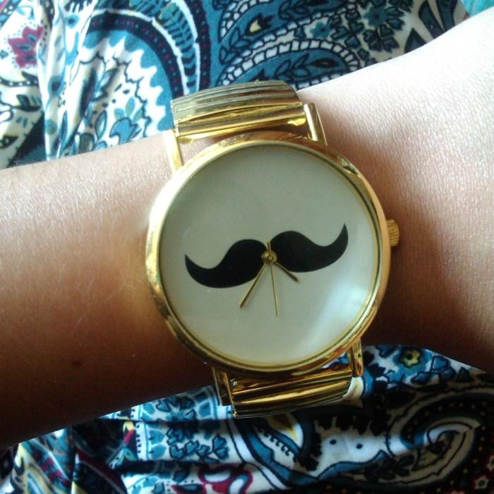 compras ebay acessórios moda ootd lotd fashion style estilo trendy look do dia review blog relógio bigode moustache