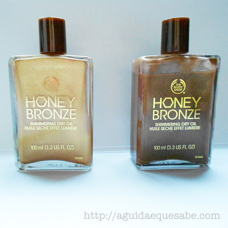 honey bronze shimmering oil the body shop vegan cruelty free bronzer bronzeador