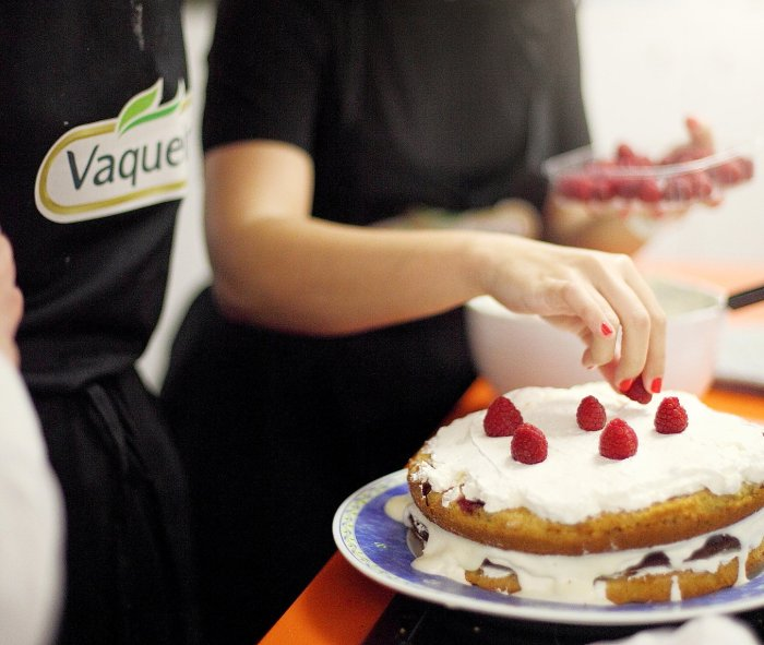 world baking day vaqueiro tralhas grátis graziela costa naked cake receita