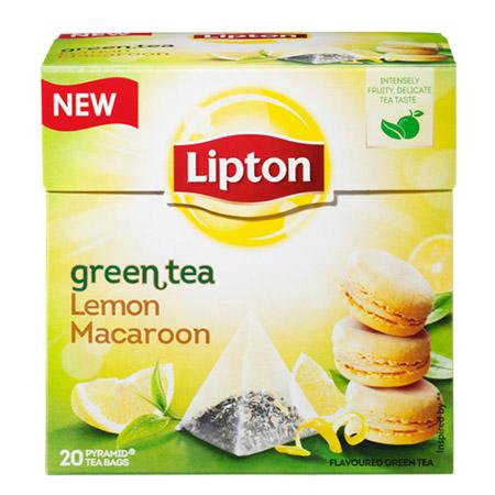 chá verde lipton lemon macaroon saúde blog lifestyle
