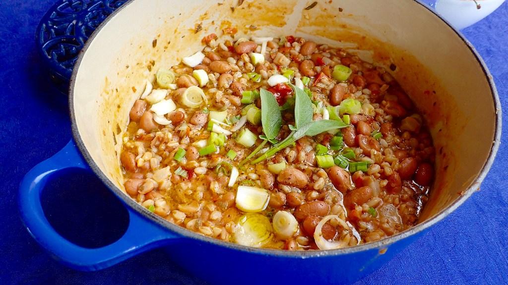 summer bean soup post