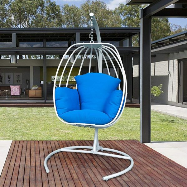 Hanging Chair Outdoor 12 Best Hanging Egg Chairs To Buy In 2019 Outdoor Indoor