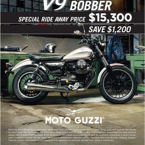 Moto Guzzi V9 Bobber - AMCN