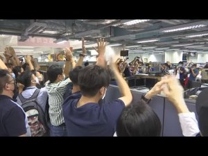 Hong Kong's Apple Daily paper prints last edition overnight