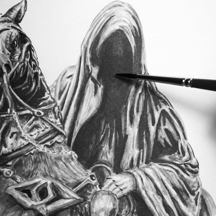Started with the Witch King and detailing...