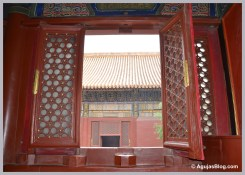 Open Window - Lama Temple