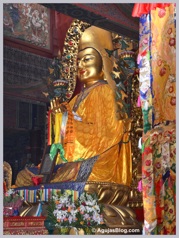 Golden Buddha  Agujas