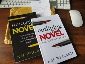 book review outlining novel K. M. Weiland