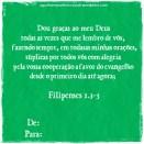 Filipenses 1.3-5