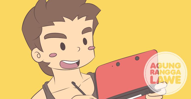 Bermain Nintendo 3DS XL