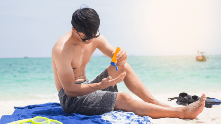 Pemakaian Sunscreen
