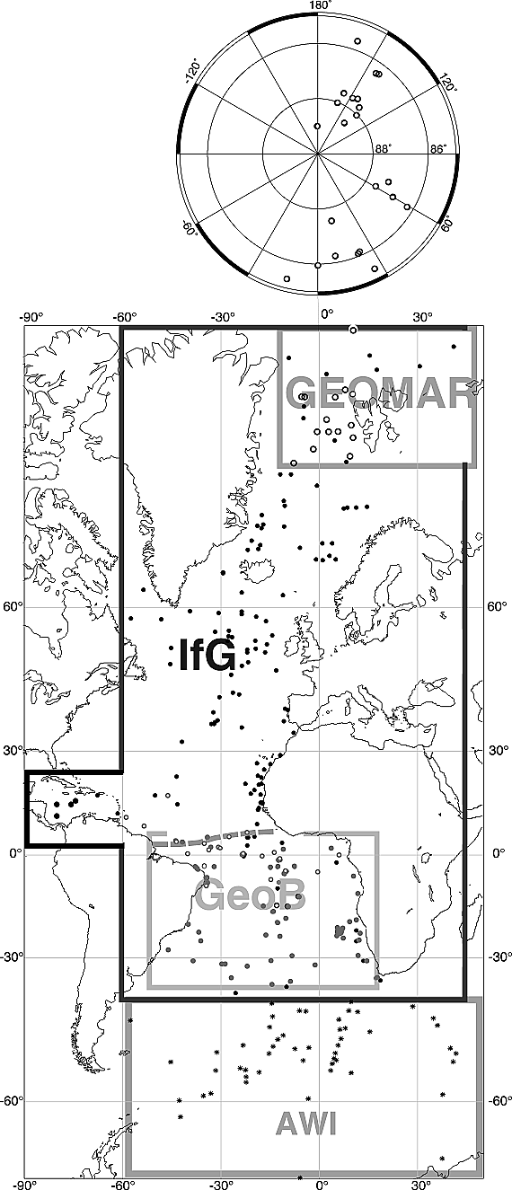 Overview of Glacial Atlantic Ocean Mapping (GLAMAP 2000