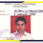 Kartu Pemeriksa Pajak pertama kali (1996)