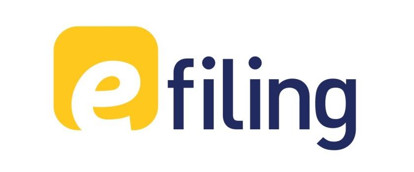 Logo e-filing 2018