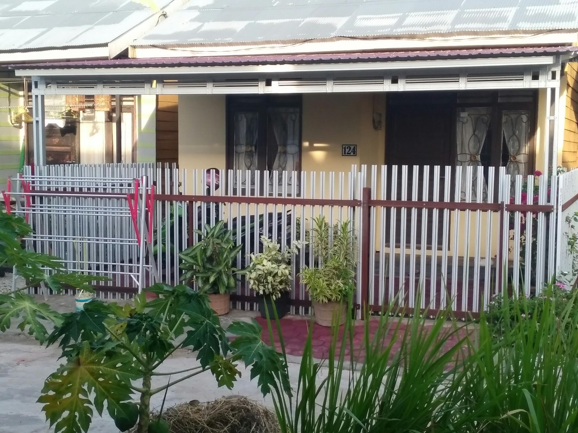 kanopi baja ringan taso pagar rumah | sobhome