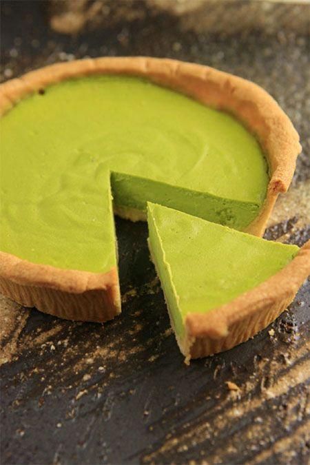 Japanese Matcha Green Tea Cheesecake