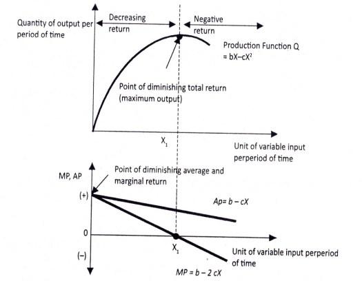 Gambar 6.4 Fungsi Produksi Dalam Pandangan Ekonomi Mikro Islami