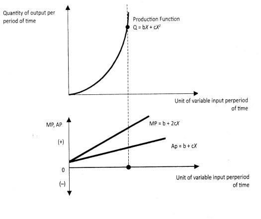 Gambar 6.5 Fungsi Produksi Dalam Pandangan Ekonomi Mikro Islami