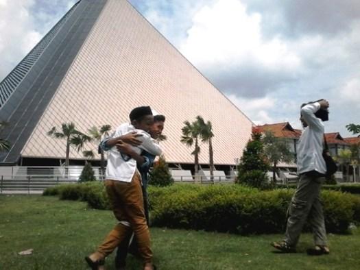Keceriaan anak-anak berlibur ke Museum Islam Nusantara Hasyim Asyari di Kawasan Wisata Makam Gus Dur Tebuireng Jombang