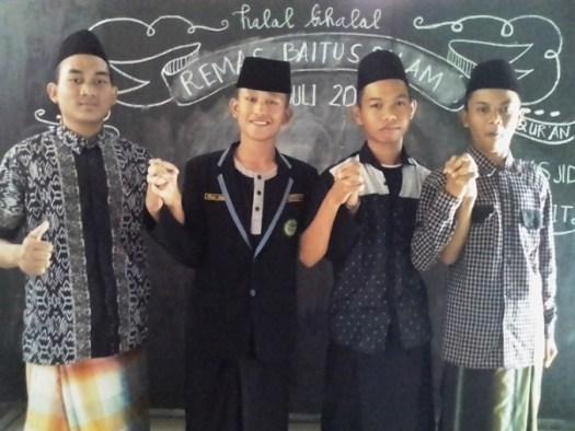 Pengurus Organisasi Remaja Masjid Baitussalam Guwo Jombang
