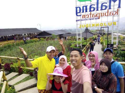 Liburan seru ke Cafe Sawah di Desa Wisata Pujon Kidul Kabupaten Malang