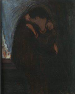El Beso, de Edvard Munch, 1897