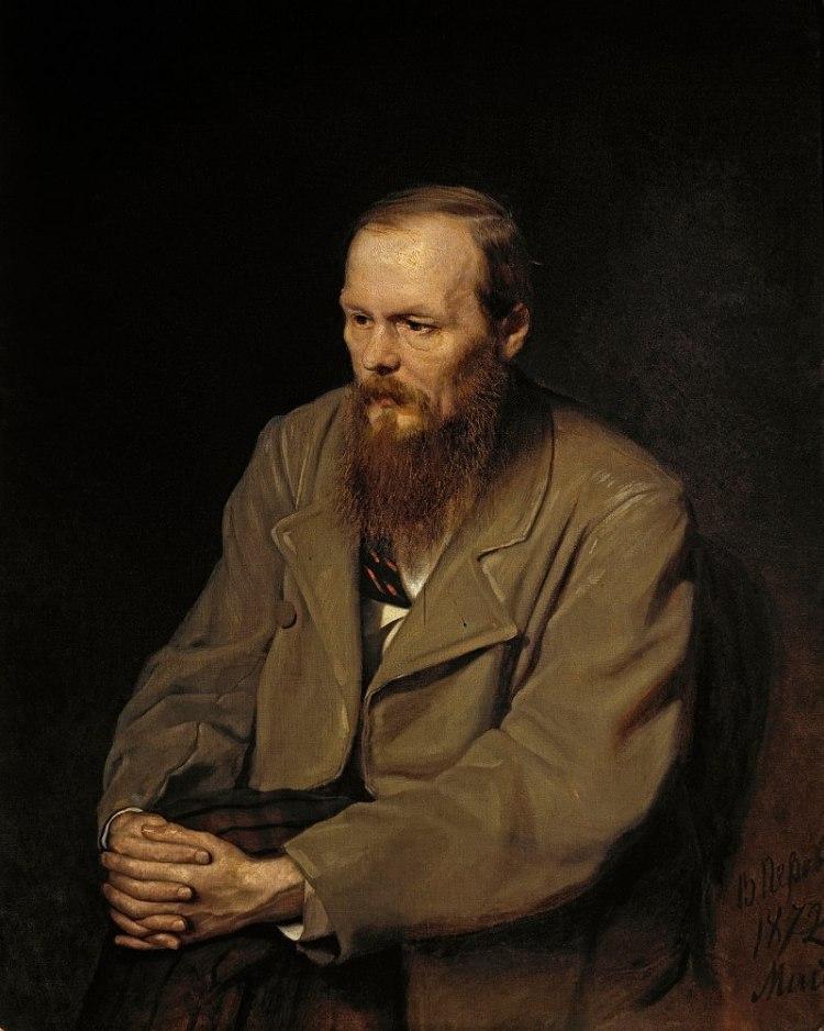 Fiódor Dostoievski. Retrato de Vasily Perov, 1872