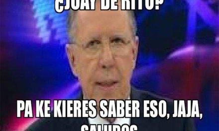 """Voz de Joaquín López-Dóriga preguntando: """"Juay The Rito"""""""