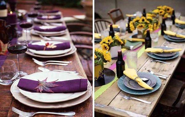 Las 5 claves del estilo campestre para decorar mesas de verano - Mesas de verano ...