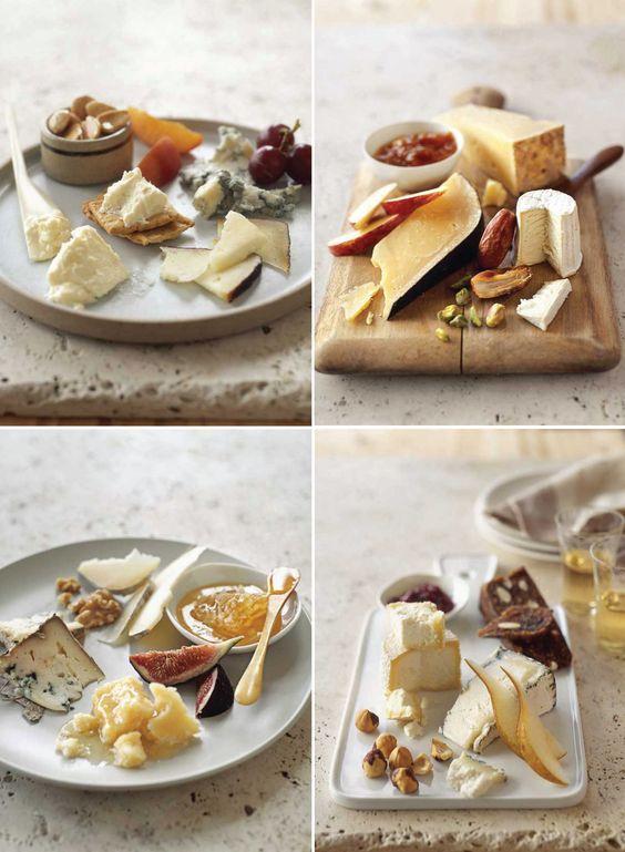 cómo preparar una tabla de quesos