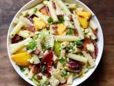 ensaladas de pasta con frutas