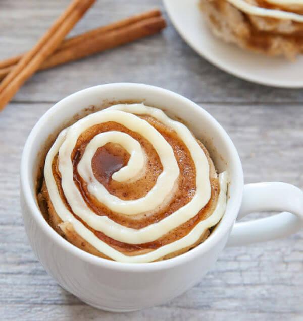 recetas de mug cakes