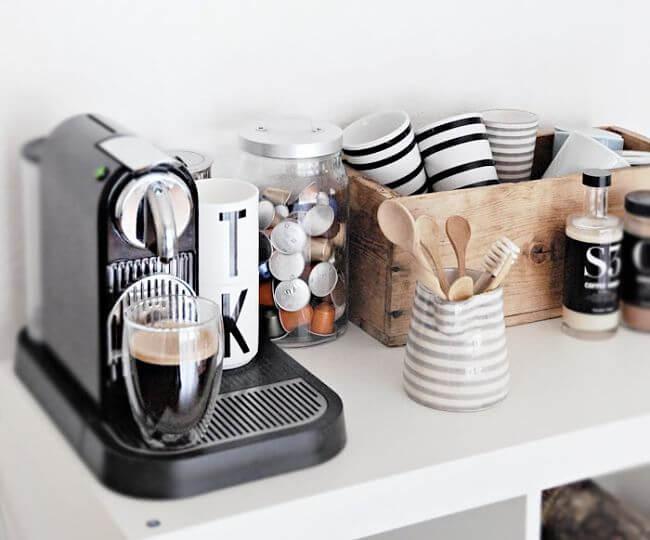 rinconcito para el café