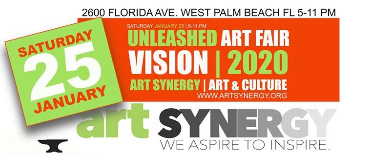 Visit the Unleashed Art Fair 2020 this Saturday