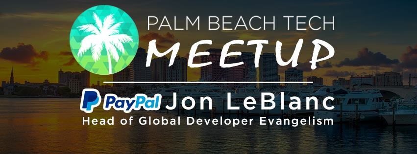 Join us for Palm Beach Tech's monthly Meetup tomorrow