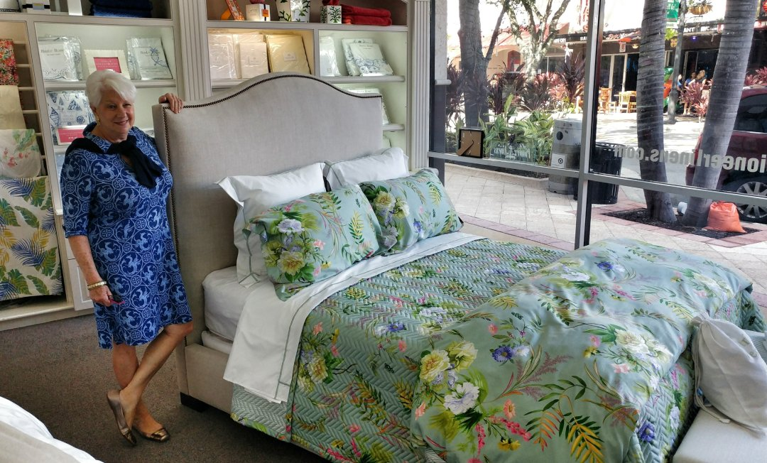Penny Murphy at Pioneer Linens