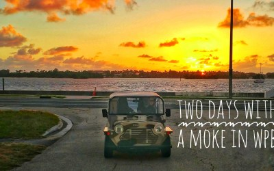 Two days with a Moke in West Palm Beach
