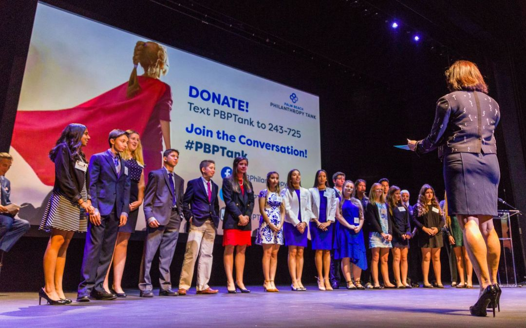 4th Annual Philanthropy Tank enters Live Pitch Round