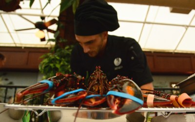 Chef Eugenio of Santucci of Downtown West Palm Beach crowned Maestro Del Mar