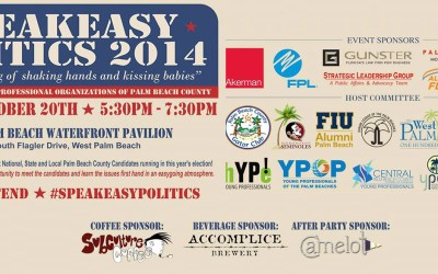 Come to the Waterfront this evening for the FREE Speakeasy Politics event